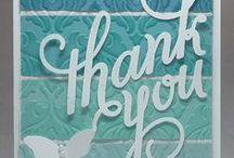 Stampin' Up! Cards / Cards I've made using Stampin' Up! products. Please visit my blog at  http://dreamingaboutrubberstamps.com