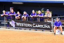 Catamount Softball / Photos of the Catamount softball team from the Catamount Softball Complex and the Southern Conference Tournament.  / by Western Carolina Catamounts