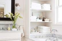Bathroom Ideas / These pictures are from www.bhg.com I pinned these pictures for give me some ideas.