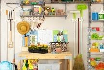 Organizing and Garage