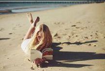 The Beach / Summer vibes, bikinis, sun and salt.