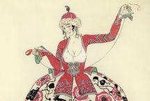 Georges Barbier / Art Deco illustrator par excellence!