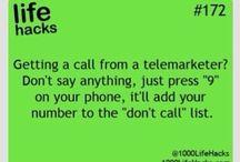 Tips, tricks and life hacks :)