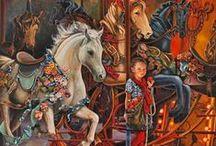 I Love Carousels! / by Pisgah Nana