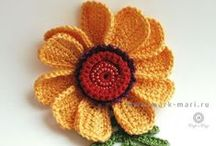 :: Crochet - Flowers & Leaves ::