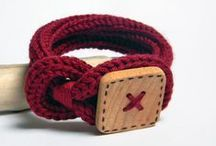:: Crochet & Knit - Necklace & Cuff ::