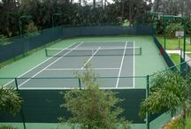 Private Tennis Court / Can I help you buy or sell a home with a tennis court?