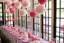 PARTY MOOD SETTING / Party settings ideas. Get crafty with these lovely ideas! / by Grace Griffiths