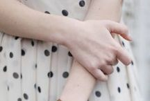 Spotted! / Polka dots and spotted material in fashion.