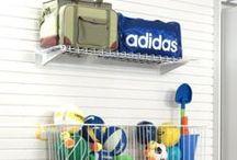 Garage Storage Baskets and Bins