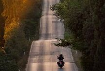 On the road / Roads I wish to ride.
