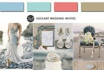 Spring 2015 Colours Inspiration / Colori e palette di tendenza per il tuo matrimonio 2015! // Palette and colour trends for your 2015 wedding.