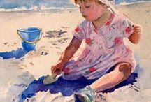 ART / prachtige aquarellen van kinderen