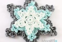:: Crochet - Snowflakes and Stars ::