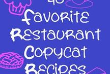 Copy Cat Recipes / by Ginger Smith