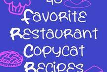 Recipes/Copy Cat