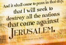 """Faith/Israel / """"I will make you into a great nation, and I will bless you; I will make your name great, and you will be a blessing. I will bless those who bless you, and whoever curses you I will curse; and all peoples on earth will be blessed through you. Genesis 12:2-3"""
