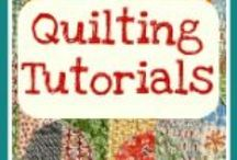 Quilts, quilting stuff / by Ginger Smith