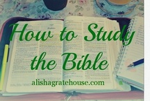 Scripture study ideas / by Ginger Smith
