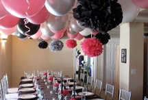 Party Decor using Balloons