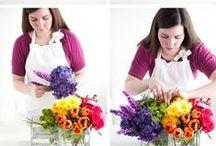 Flower arranging: tutorials & ideas / by Ginger Smith