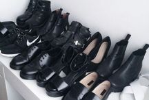 shoe obsessions / This is my shoe closet  / by Phoebe Hoang