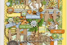 Designs by Mandy King Complete Catalog / A complete listing of my digital scrapbook products found at GottaPixel