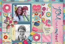 Designs by Mandy King Creative Inspiration / Layouts using my digital scrapbook kits