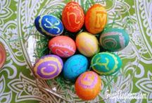Easter - Recipes & Home Decor for Easter / Easter Decor pieces of all sizes & in any & every room. Add a touch of spring throughout your home. Celebrate with a few simple touches that doesn't have to cost a lot!