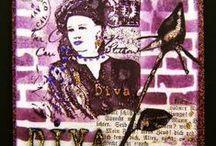 Art journal Inspiration/ Mixed media / Art