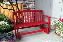 Furniture Makeovers / From easy touch ups to full fix up projects, these pieces of furniture needed updating….