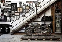 Garage Life / Design ideas on transforming a garage into a living / work space