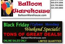 Special of the Month / Products on Special for 1 month only. / by Balloon Warehouse