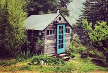 Cabin Fever / Dedicated to beautiful cabins the world over.  I'd love to downsize and live in a cabin!