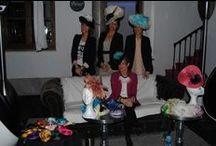 Presentación ECOCO / Presentación de colección ECOCO, un pequeño taller de tocados, sombreros, pamelas y demás detalles, creados artesanalmente y con mucho amor... en Marquis Portago