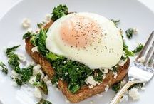 Veggie Breakfasts / Vegetarian breakfast ideas and recipes that aren't cereal or toast!