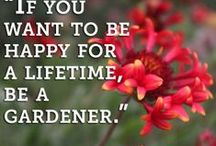 Gardening Quotes / Quotes about Gardening! #inspirational #funny