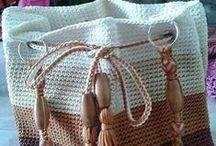 Horgolt táskák / Horgolt táska minták