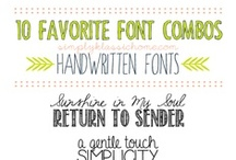 Lettering and Clipart / by DeeDee Phillips