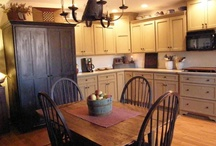 Kitchens/Dining Areas I Love / by Tami Sauer