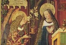 Annunciation / medieval images of the Annunciation