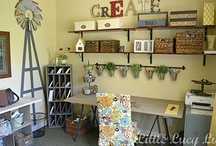 Home Office/Craft Rooms... / by Tami Sauer