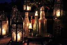 Chandeliers and Candles