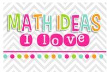 MATH ideas I HEART!