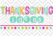 THANKSgiving ideas! / by Nicole Alderson