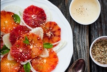 Spring-ilicious! / Spring is in the air, and on our plates! Invigorate your palate with fresh fruits and veggies, crisp salads and exciting flavors!