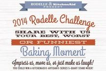 The Rodelle Challenge / Each year we partner with KitchenAid® for our annual Rodelle Challenge. There is an opportunity to win a KitchenAid® product as well as a year supply of Rodelle Baking Essentials!