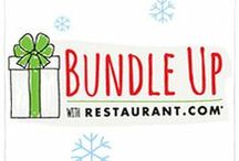 Gift Bundles / Restaurant.com has assembled five unique gift bundle packages perfectly tailored for anyone on your list. See how you can buy and package these bundles yourself! / by Restaurant.com