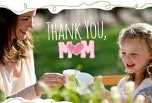 What Mom Means To Us / Mother's Day inspired quotes from Restaurant.com.