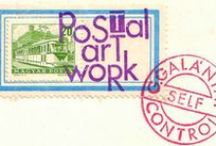 Correspondence Artwork / Mail art, Postal art, Correspondence art is a populist artistic movement centered around sending small scale works through the postal service. It initially developed out of the Fluxus movement in the 1950s and 60s, though it has since developed into a global movement that continues to the present. The American artist Ray Johnson is considered to be the first mail artist, and the New York Correspondence School that he developed is considered the first self-conscious network of mail artists.